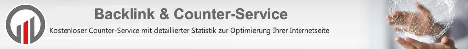 Kostenloser Counter-Service mit detaillierter Statistik zur Optimierung Ihrer Internetseite